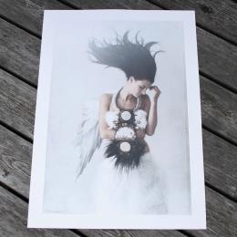 "Tove Frank print ""Wings"""