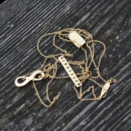 "Halsband ""Fragments"" - guld"