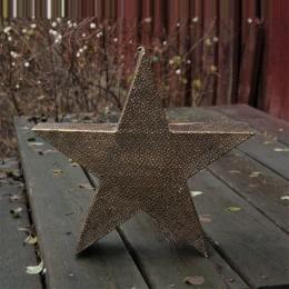 Stjärnformad Ljuslykta - Guld