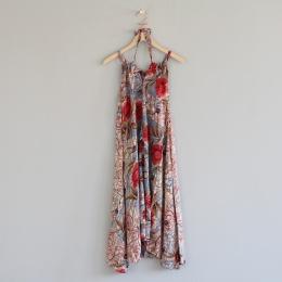 Lovelace Halterneck Dress - Multifärgad