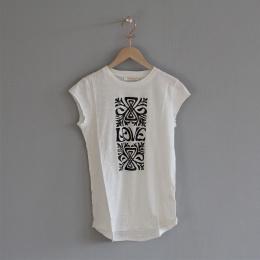 Elli Stencil Love T-shirt - Off white