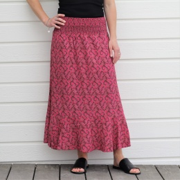 Lysistrata Skirt - Rose Wine