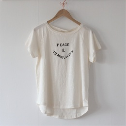 Peace Print t-shirt - Off White