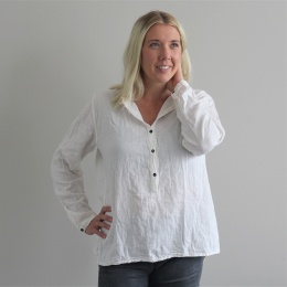 Abena basic shirt - White