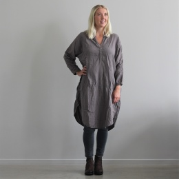 Agnita oversize dress - Grey