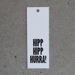 Tags - Hipp Hipp Hurra