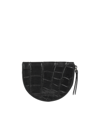 Laura's Purse - Black Croco