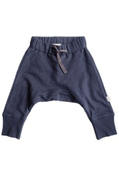 Lias Trousers - Solid Navy Blue