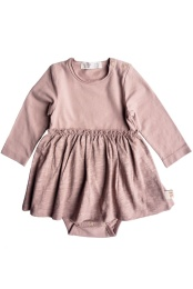 Lissy Body With Skirt - Solid Old Pink