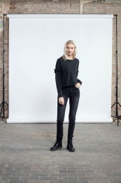 Lu Sweater - Black washed