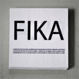 FIKA - Servetter - Vit