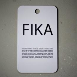FIKA - Skärbräda 34x20cm - Vit