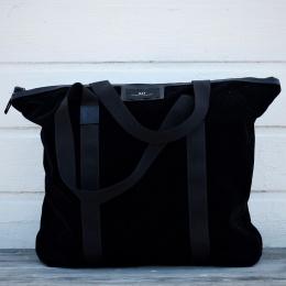 Nero Velvet Bag - Black