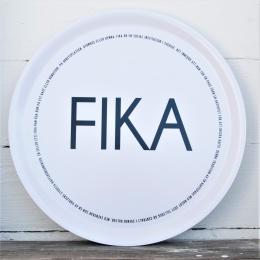 """Rund Bricka """"Fika"""""""