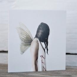 Litet Kort - Butterfly Girl