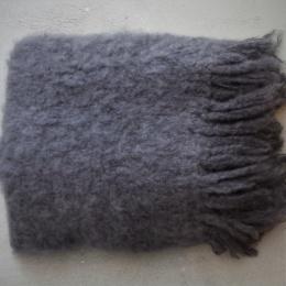 Mohairfilt - Blygrå