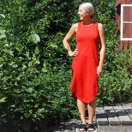 Klänning Ulrika - Röd