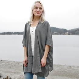 Ellie kimono - Dark grey