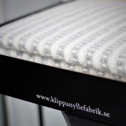 Presentbox, Ullpläd Olle - Ljusgrå