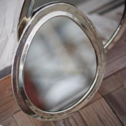 Spegel, M - Äggformad
