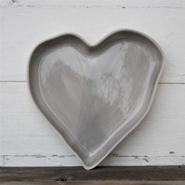 Hjärtformad Pajform - Grå