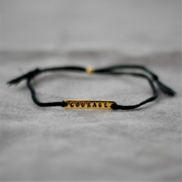 Courage - Black/Gold
