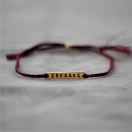 Courage - Burgundy/Gold
