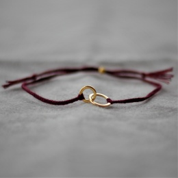Connected - Burgundy/Gold