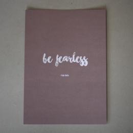"Darling's kort - ""fearless"""