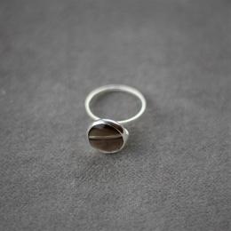 Smokey Ring - Silver