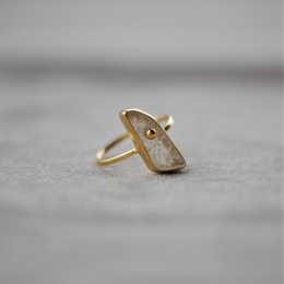 Rosequarts Ring - Gold