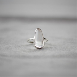 Free Shape Ring - Silver