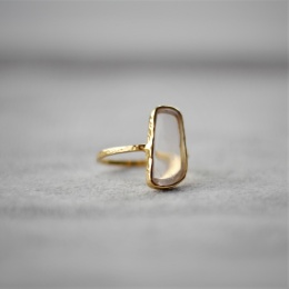 Free Shape Ring - Gold