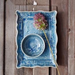 Dippskål, liten - Havsblå