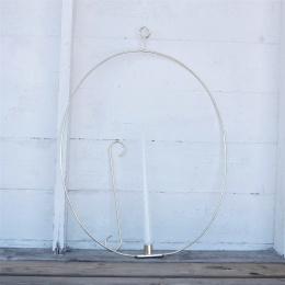 Ljusring oval 56cm - Mässing