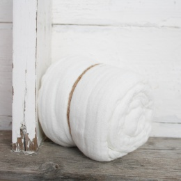 Jessica sjal - White