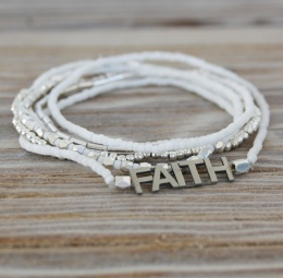Faith - White