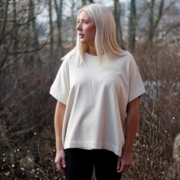 Ö-Sweat Tunic - Bone