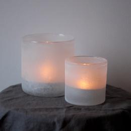Frost Candleholder S - White