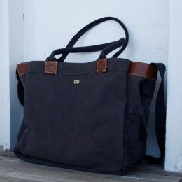 Ashley Tote Bag - Dark Grey