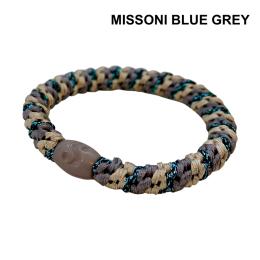 Supersnodden Hårband - Missoni Blue Grey