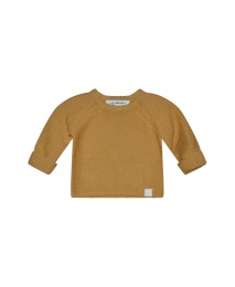 Ronnie Knitted Sweater Organic - Mustard
