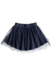 Sally Skirt Tulle - Solid Navy Blue