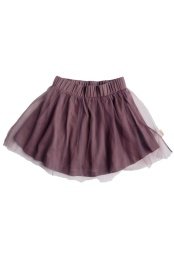 Sally Skirt Tulle - Solid Dark Plum