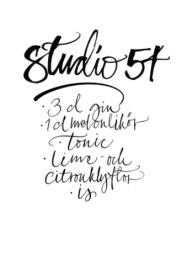 Kort A5 - Studio 54