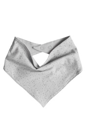 Svante scarf - Print Light grey