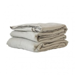Table Cloth Linen 160x330 - Warm Grey
