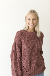 Tang Knitted Sweater - Dark Ginger