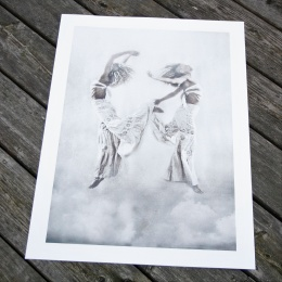 "Tove Frank Print ""Spirit Flight"""