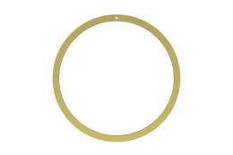 Wreath 40 cm - Brass